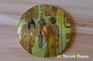 Podkładka z CD- motyw egipski 3