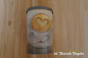 Puszka na cappuccino 1